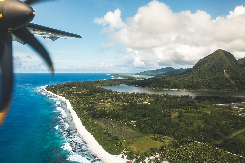 Les options de transport en Polynésie française
